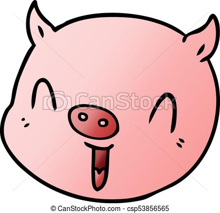 cartoon pig face.