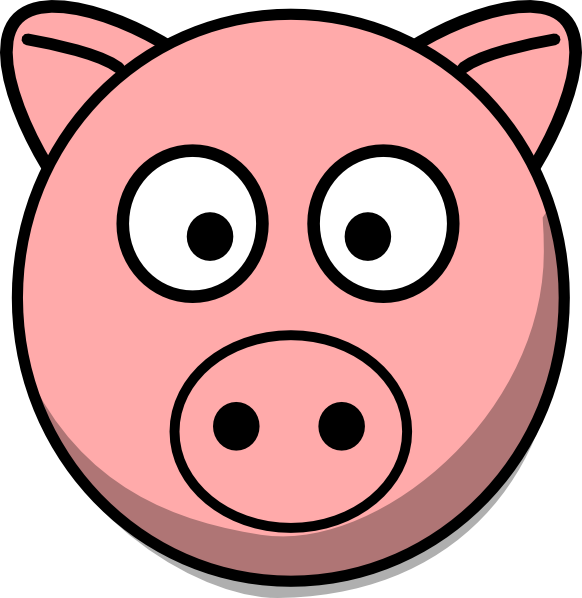 Pictures Of Cartoon Pigs.