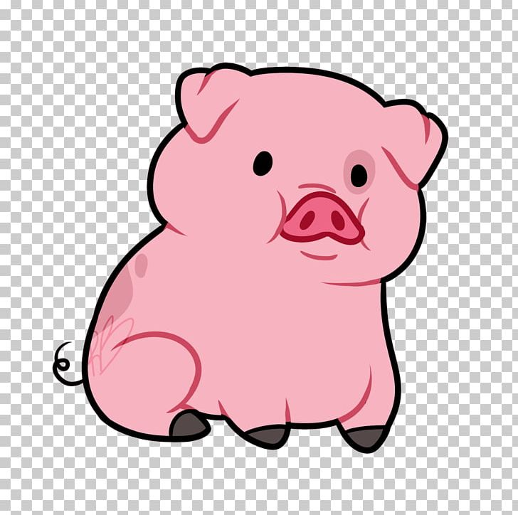 Domestic Pig Animated Cartoon PNG, Clipart, Animal Figure, Animals.