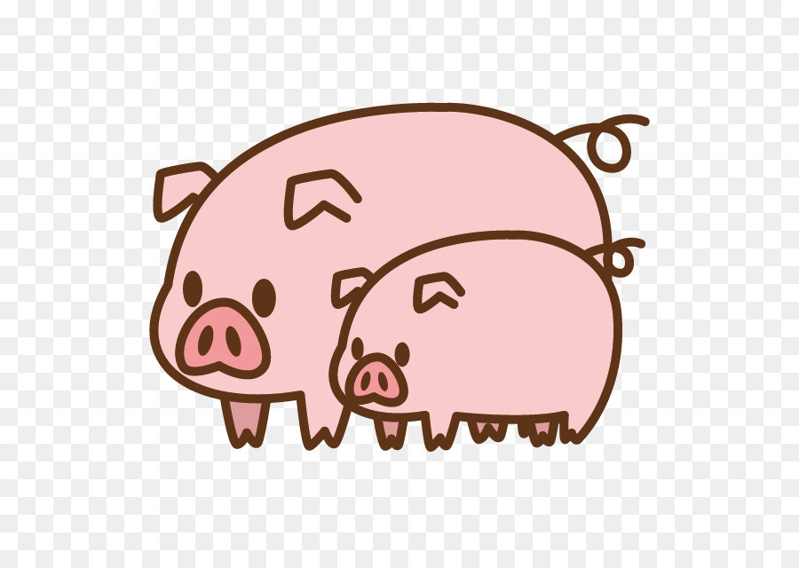 New Year Pig png download.