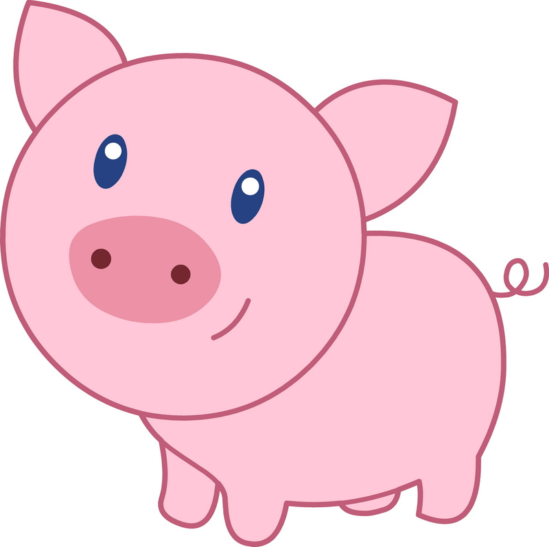 Download Free png Cute Pig Cartoon 07 Wallpaper.