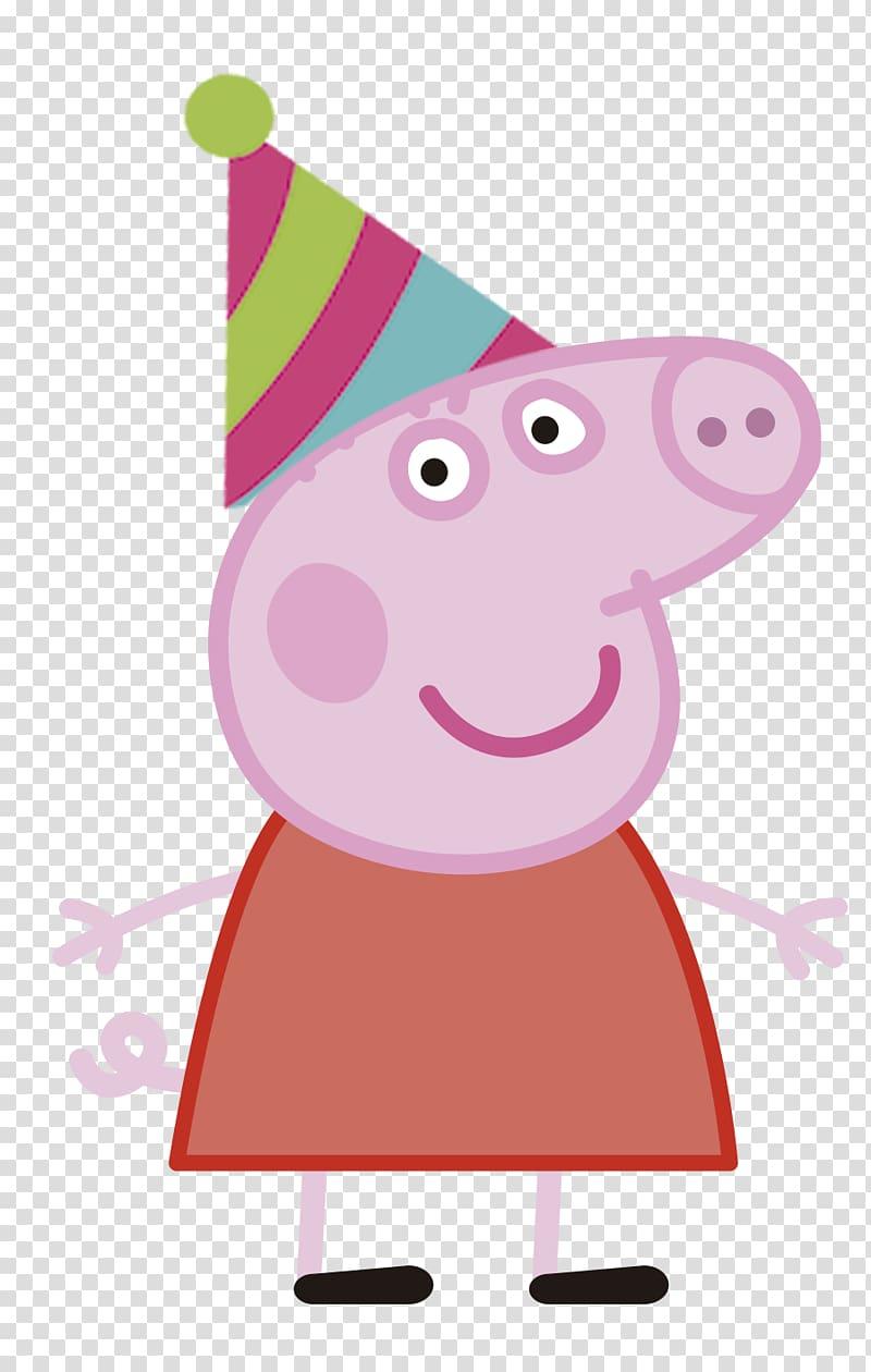 Daddy Pig Mummy Pig YouTube Animated cartoon, pig transparent.