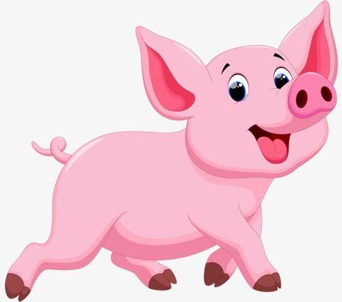 Pig, Pig Clipart, Cartoon Pig, Animal Pig PNG Transparent Clipart.