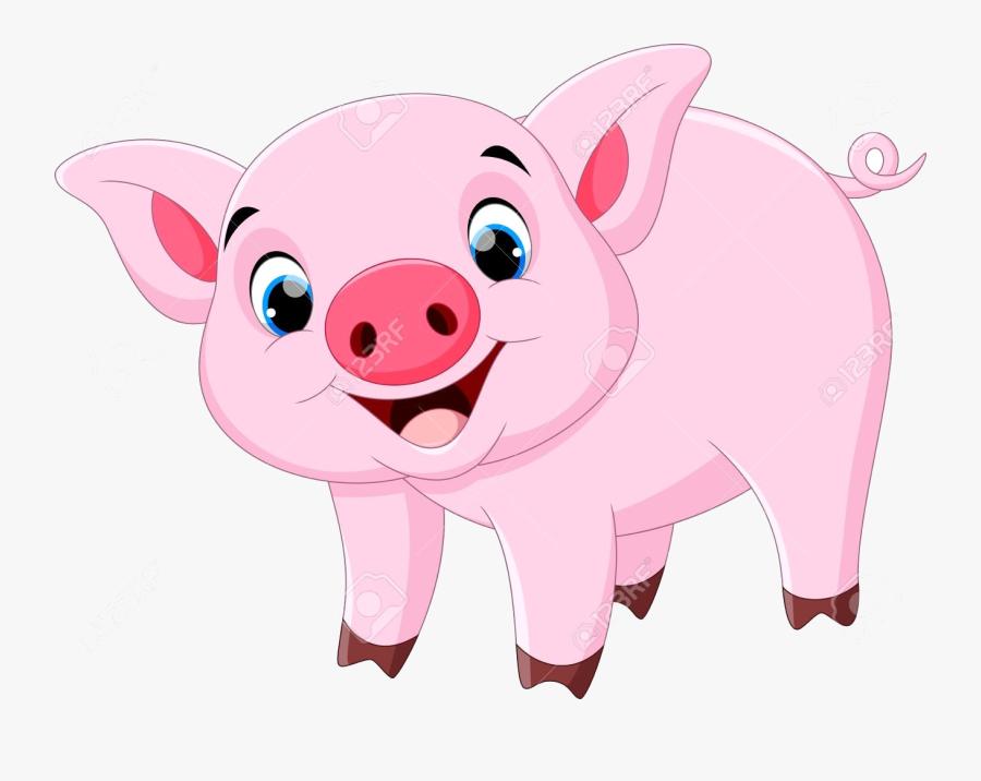 Pig Clipart Cute Cartoon Pigs Thanhhoacar Com Transparent.