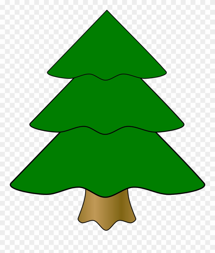 Pine Tree Cartoon 26, Buy Clip Art.