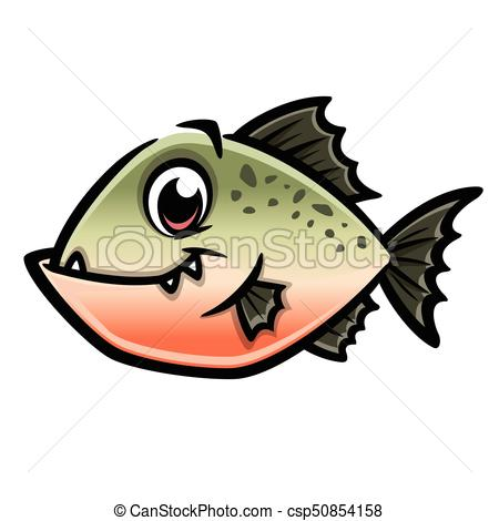 Cartoon Piranha.