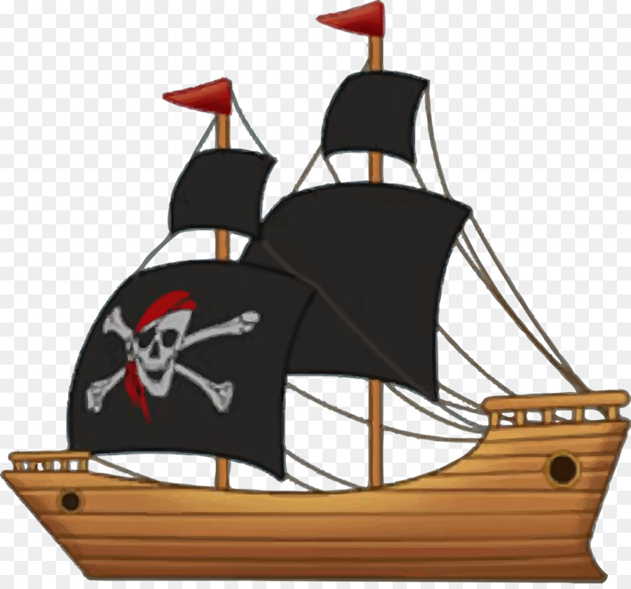 Pirate Ship Cartoon png download.
