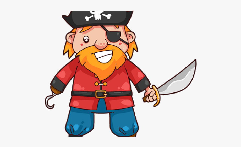 Cartoon Pirate Cliparts.