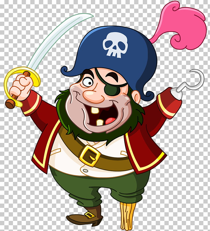 Piracy Cartoon Drawing, Cartoon pirates PNG clipart.