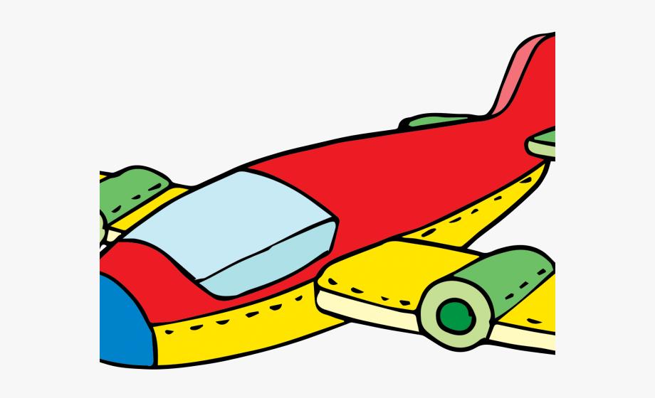 Cartoon Airplane Clipart.