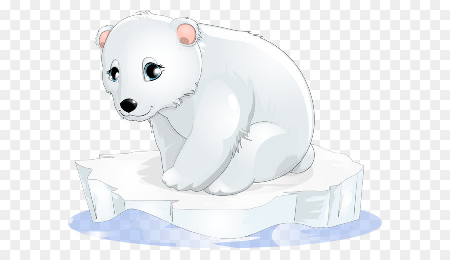 Polar Bear Cartoon png download.