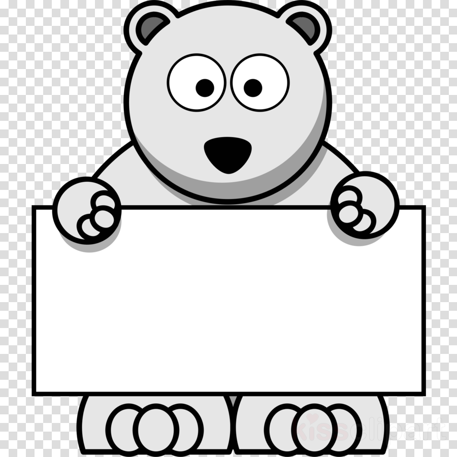 Cartoon Polar Bear Clipart Polar Bear Clip Art.