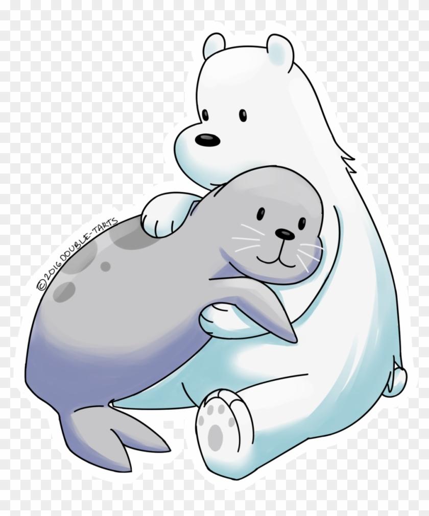 Ice Clipart Polar Bear.