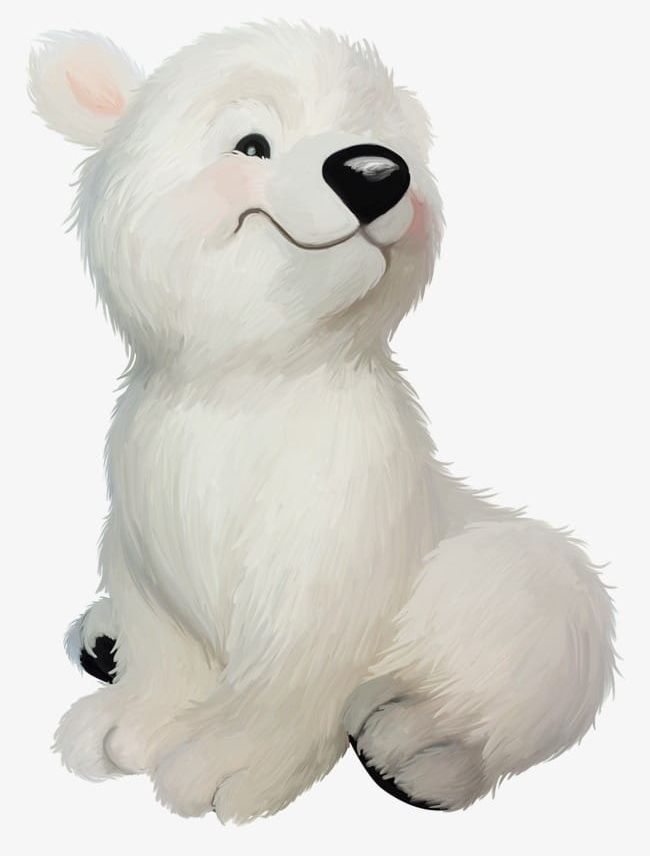 Cartoon Polar Bear PNG, Clipart, Animal, Animals, Bear, Bear Clipart.