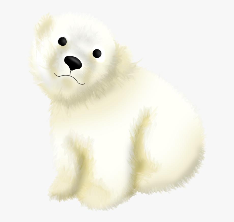 Cartoon Polar Bear Png.
