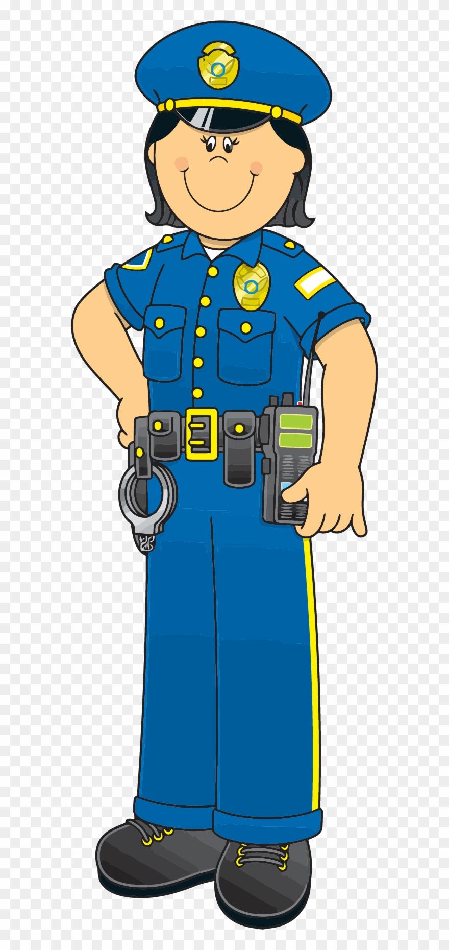 Female Police Officer Clipart.