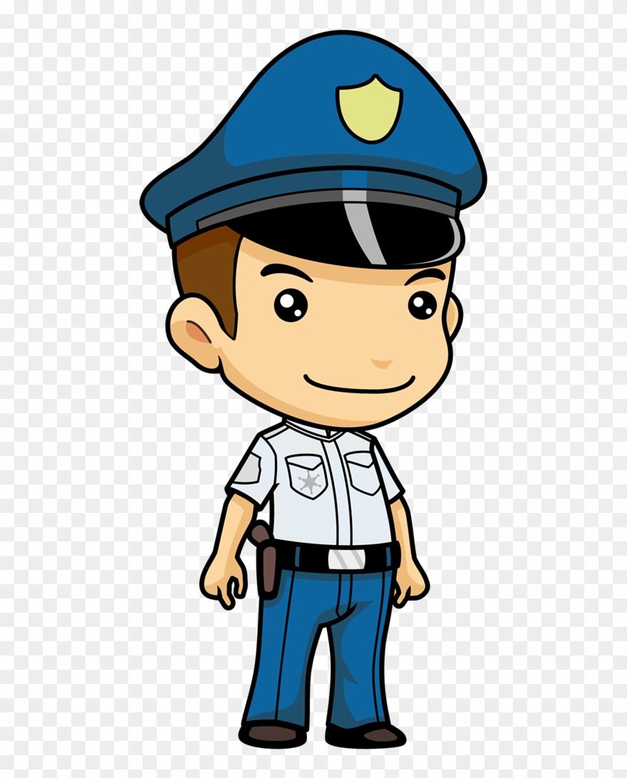 Cute Police Clipart.