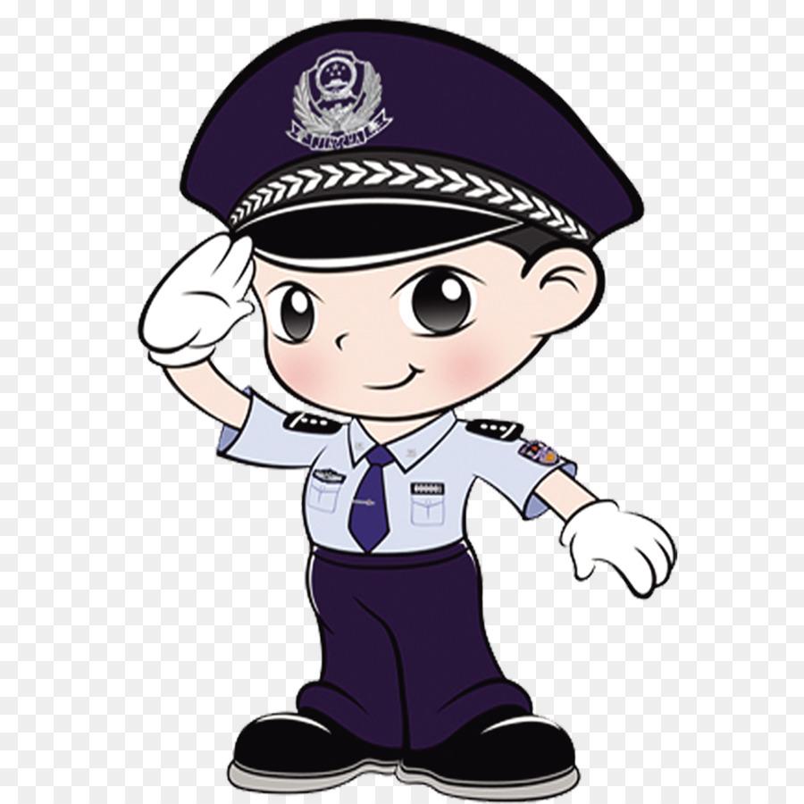 Police Cartoon png download.
