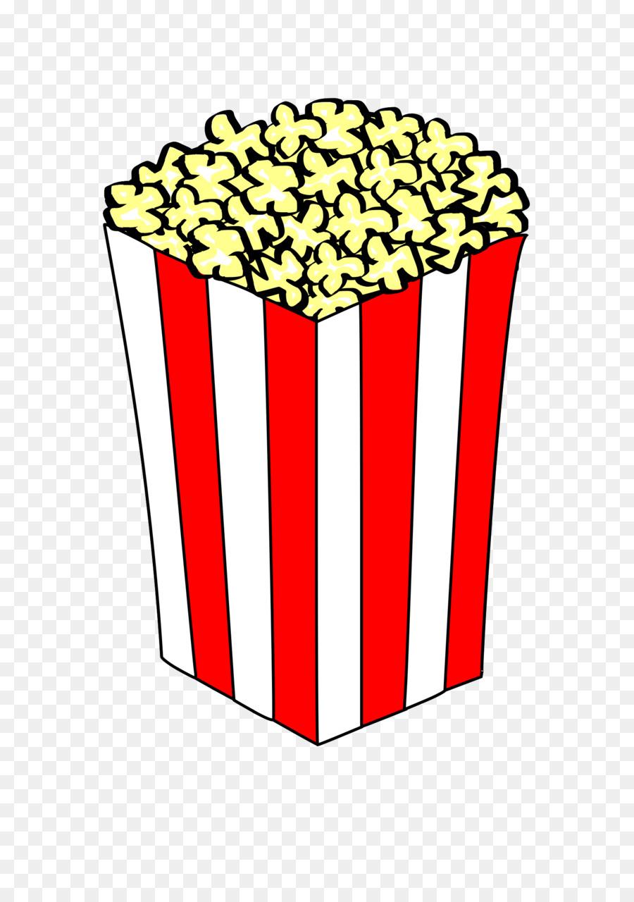 Popcorn Cartoon clipart.