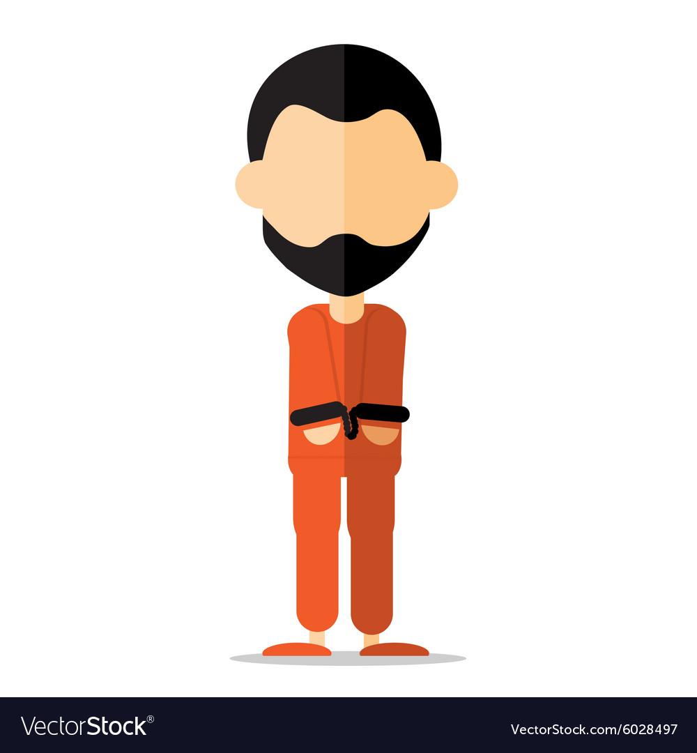 Prisoner cartoon.