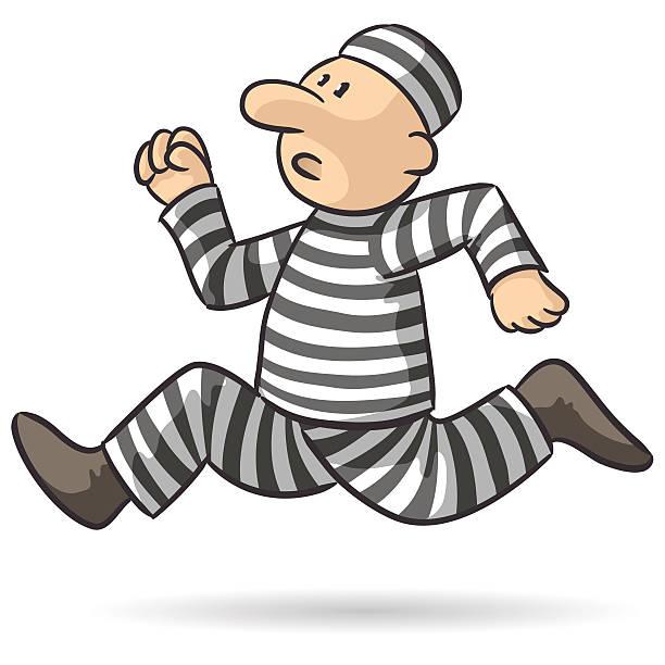 Best Prisoner Running Illustrations, Royalty.