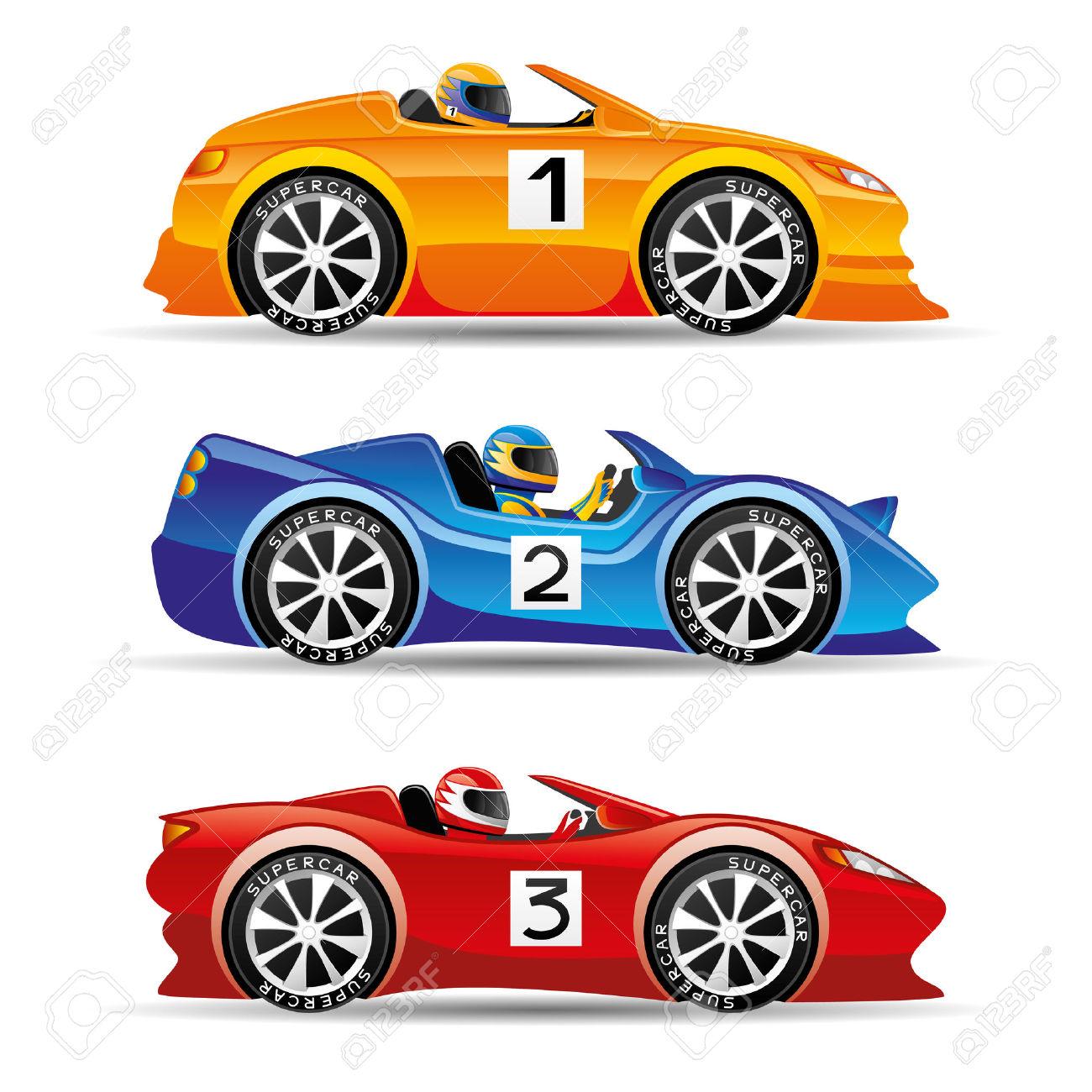 Cartoon Race Car Group with 33+ items.