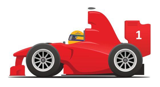Cartoon race car clipart clipartfest.
