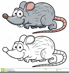 Free Clipart Of Cartoon Rats.