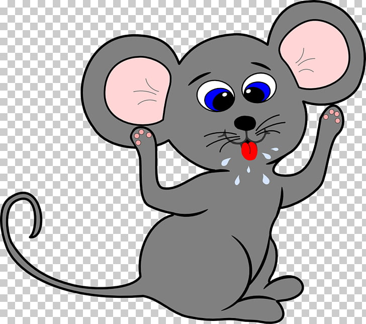 Mouse Cartoon Drawing , Cartoon Mouse, gray rat PNG clipart.
