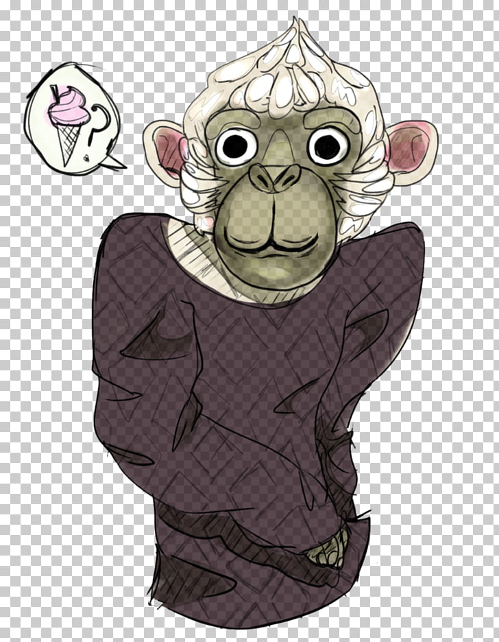 Primate Vertebrate Monkey Cartoon, Rat & Mouse PNG clipart.