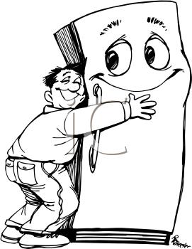 Similiar Cartoon Stinky Food In Refrigerator Keywords.
