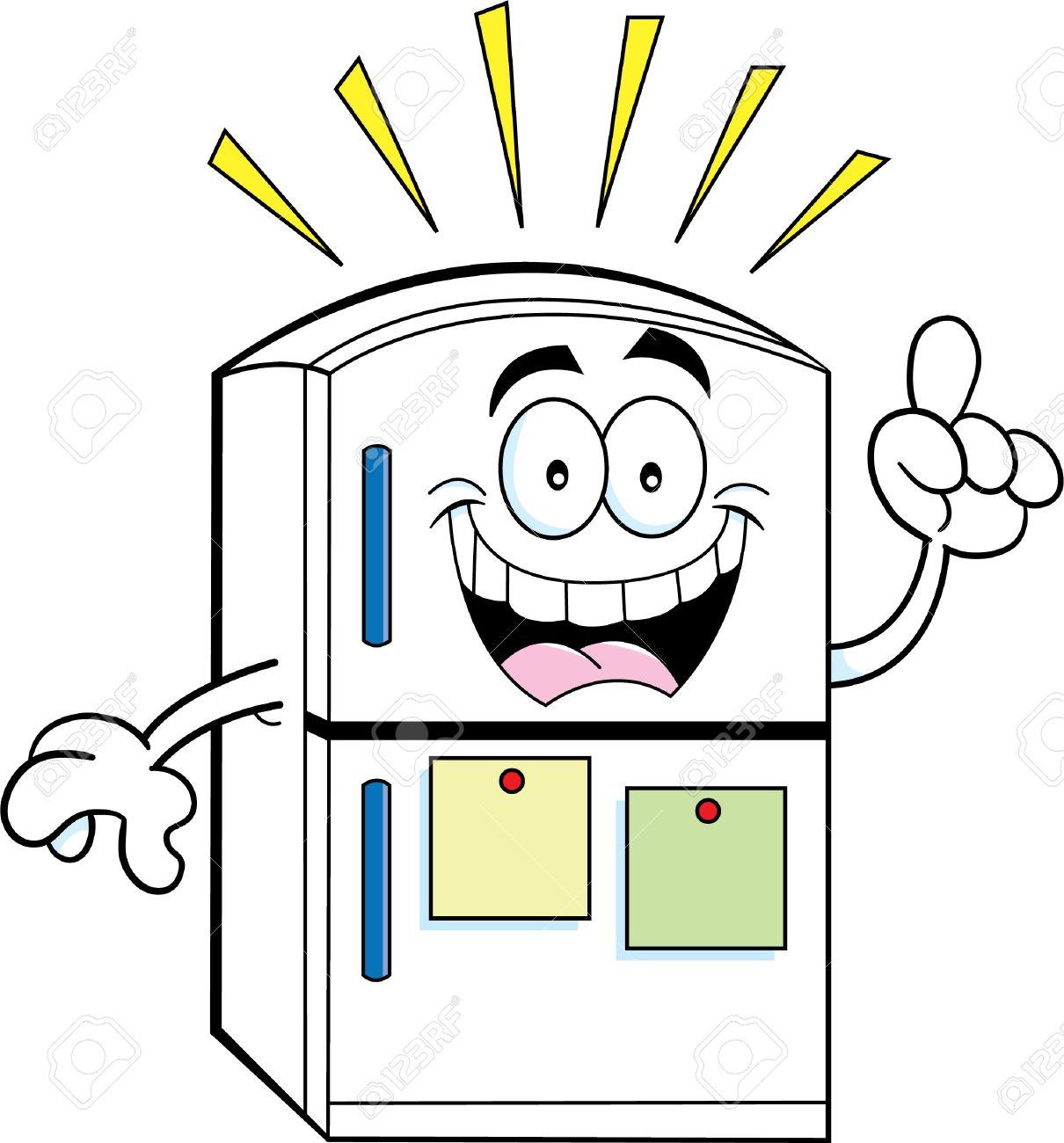 Showing post & media for Cartoon refrigerator clipart.
