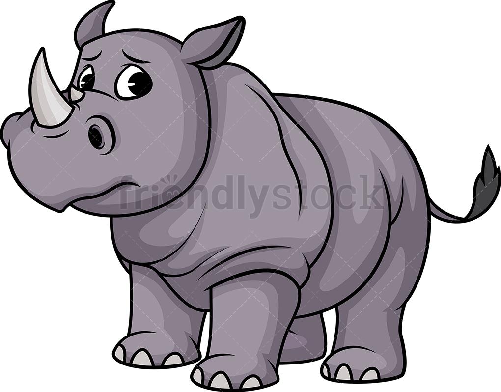 Sad Rhino.
