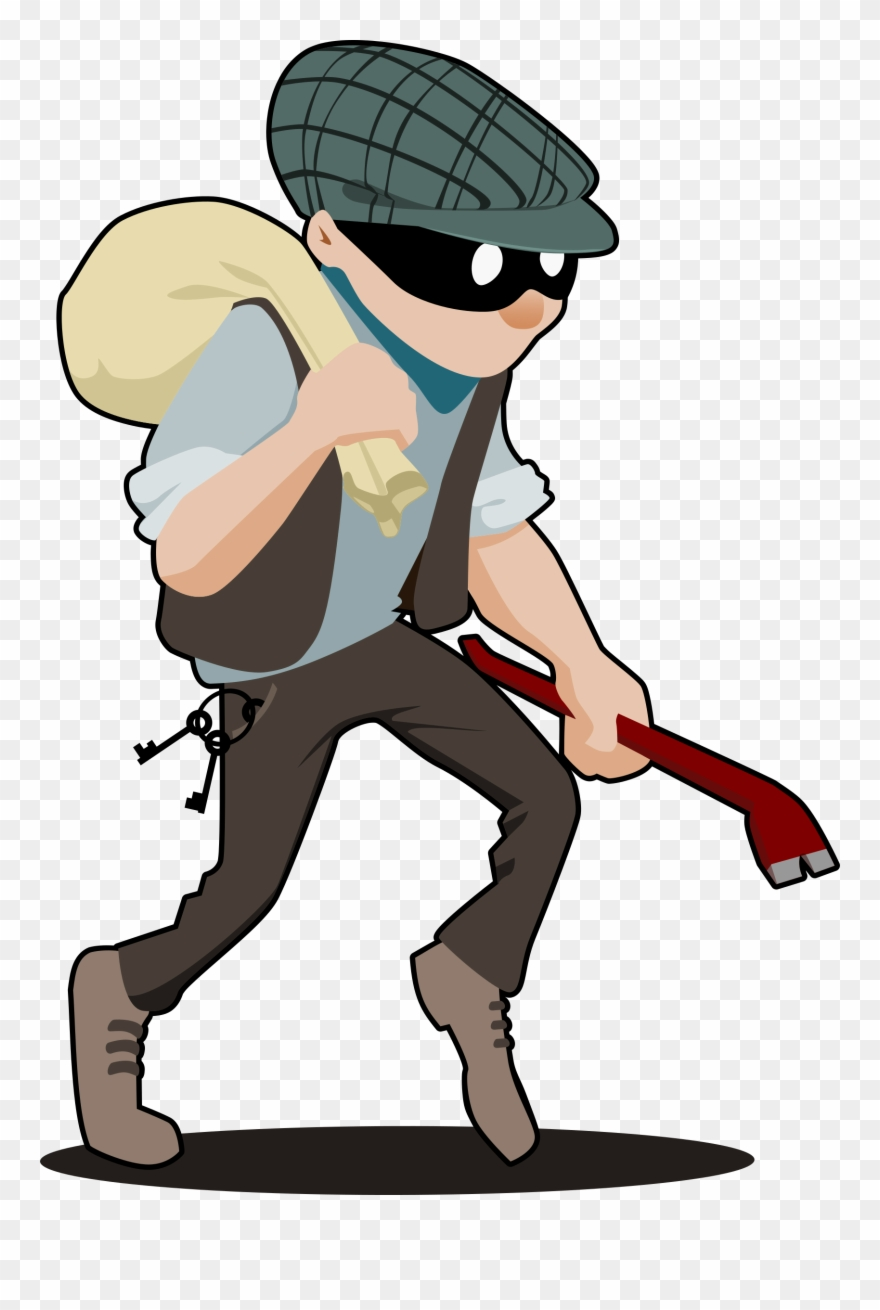 Burglar clipart robber, Burglar robber Transparent FREE for.