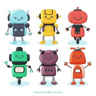 Robot Vectors, Photos and PSD files.