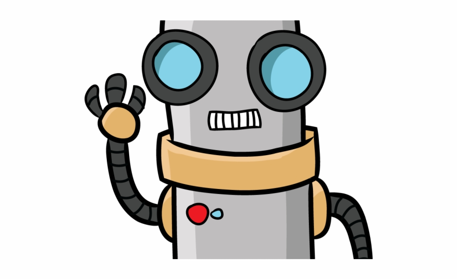 Robot Clipart Foot.