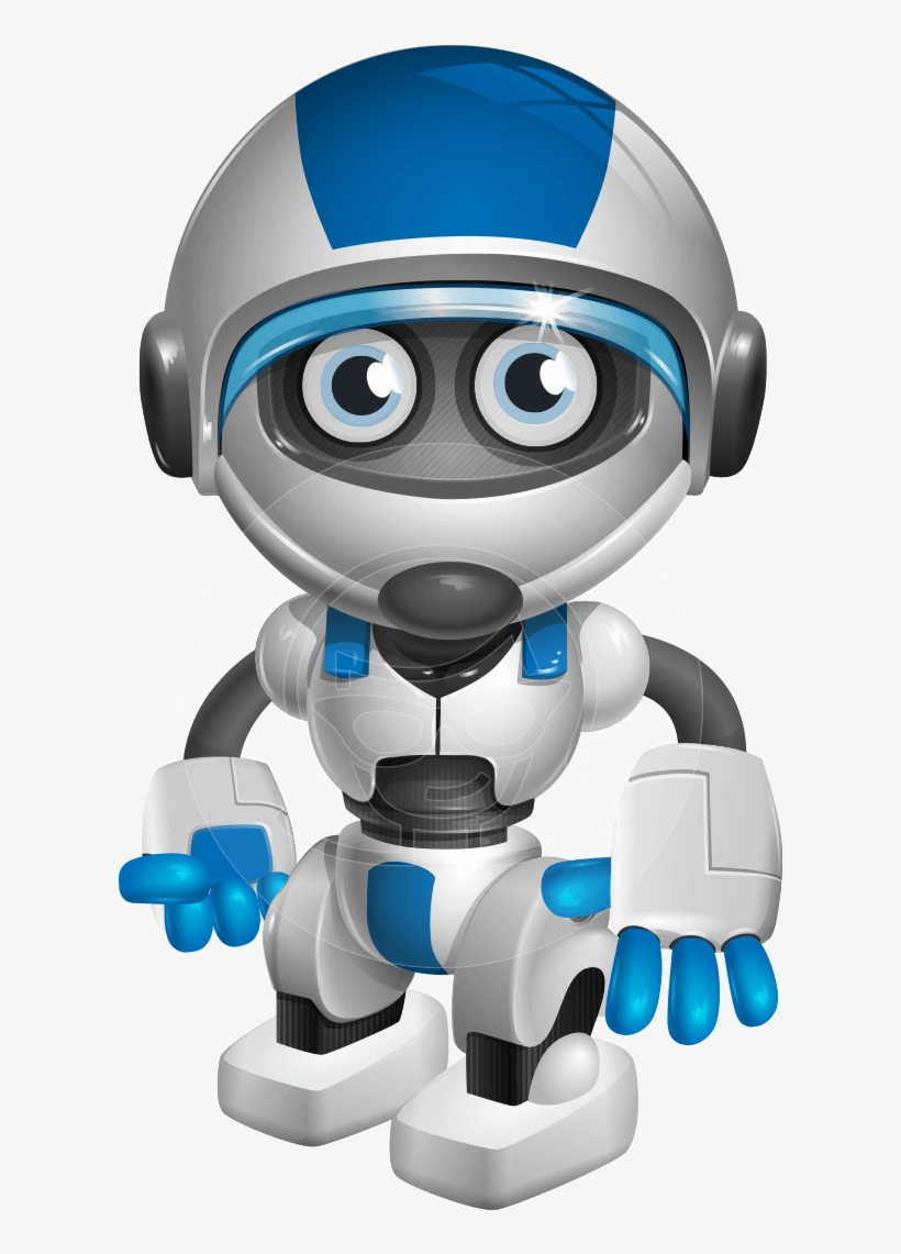 Cartoon Robot Png Banner Royalty Free Stock.
