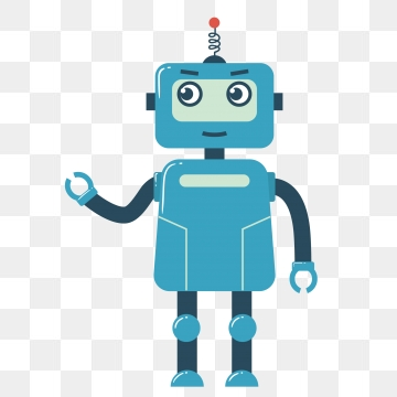 Cute Robot PNG Images.