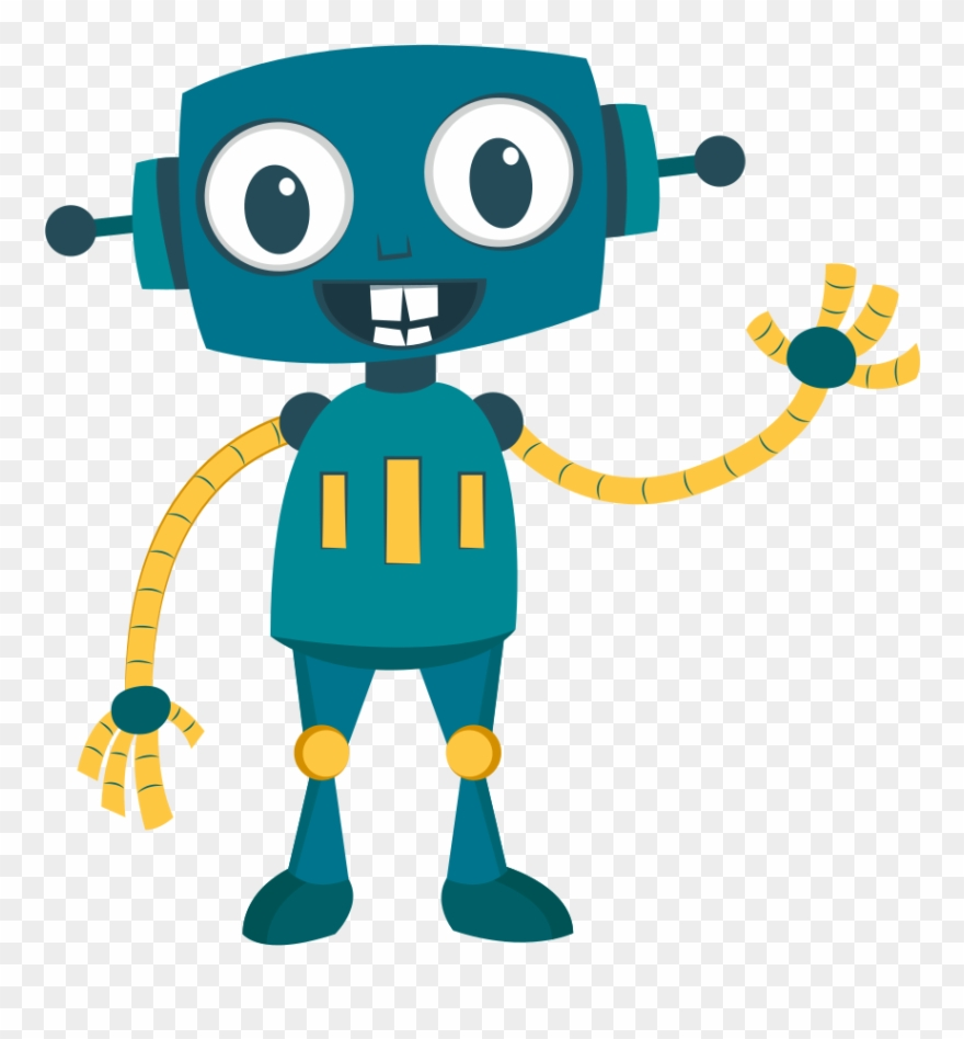 Model Robot Robotics Cartoon Drawing.