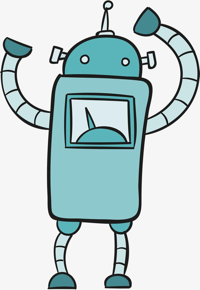 Green Cartoon Robot, Vector Png, Robot, #53975.