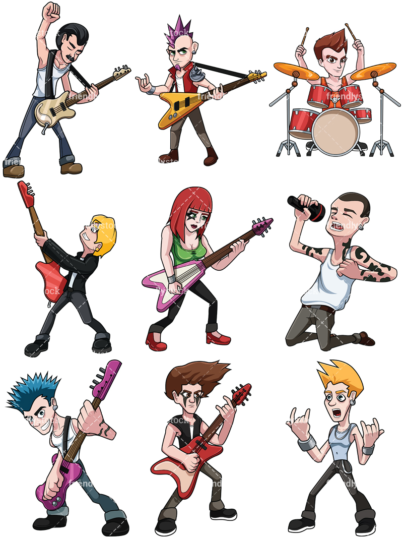 Rock Stars Collection.
