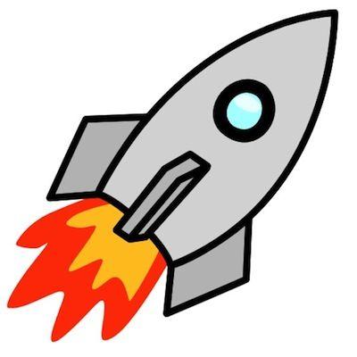 Free Cartoon Rocket Ship Clip Art Clipart Clever Rocketship.