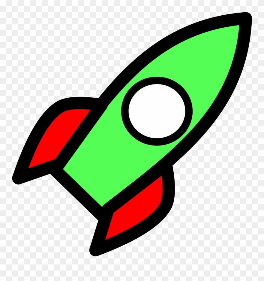 Cartoon Rocket Ship Clipart (#81171).