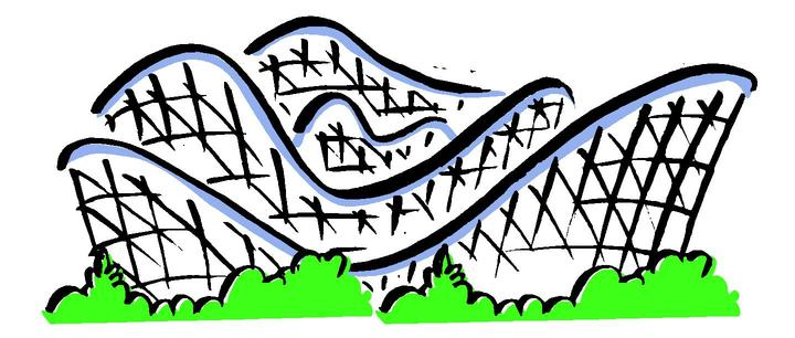 Watch more like Roller Coaster Hill Clip Art.