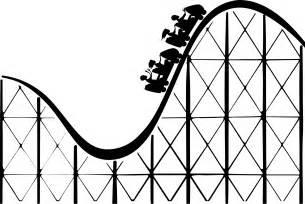 Similiar Black And White Cartoon Roller Coaster Keywords.