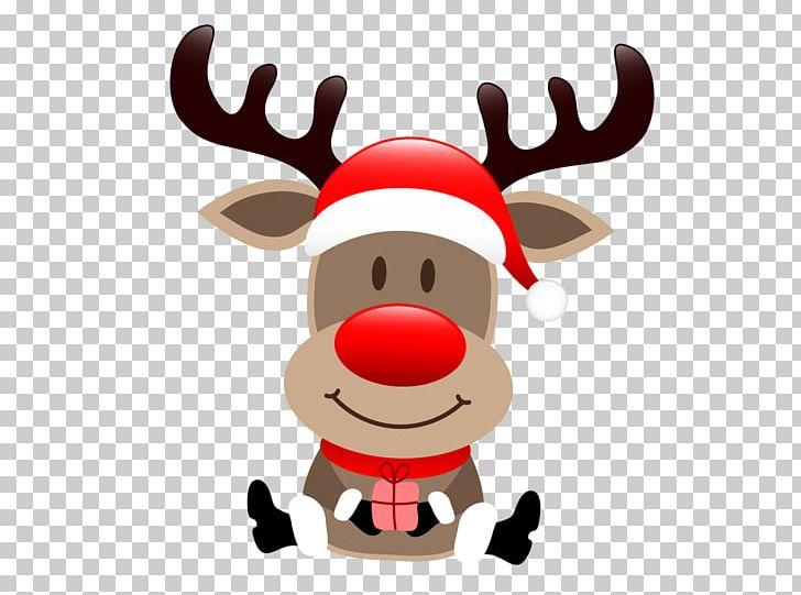Rudolph Santa Claus's Reindeer Santa Claus's Reindeer Christmas PNG.