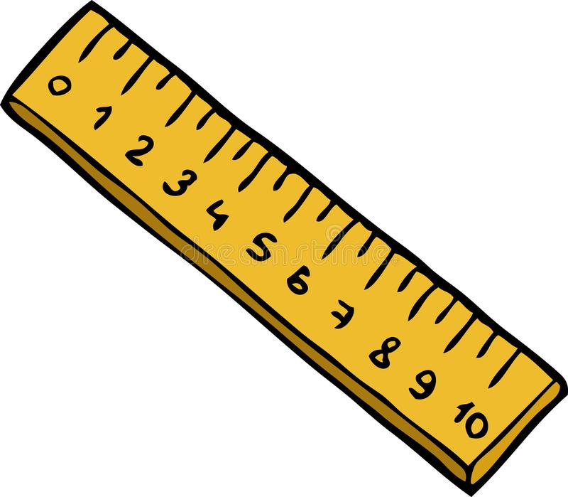 Cartoon Ruler Stock Illustrations.