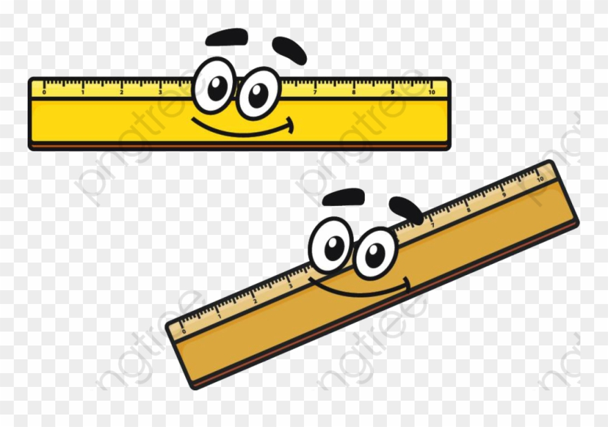 Ruler Clipart Cartoon.