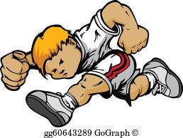 Runner Cartoon Clip Art.