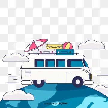 Cartoon Rv Png, Vector, PSD, and Clipart With Transparent Background.
